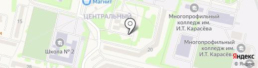 ДЮСШ №2 Тамбовского района на карте Строителя