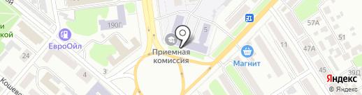Тамбовский государственный университет им. Г.Р. Державина на карте Тамбова