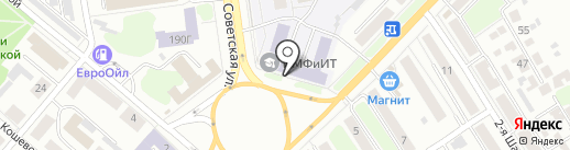 Аврора на карте Тамбова