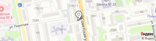 3М на карте Тамбова
