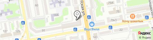 ДЮСШ №5 на карте Тамбова