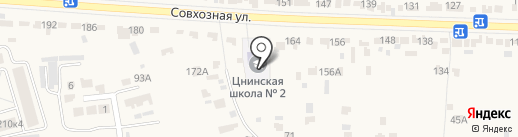Красненская основная общеобразовательная школа на карте Красненькой