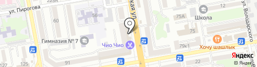 Банкомат, Банк ВТБ 24, ПАО на карте Тамбова