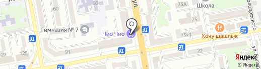 РосДеньги на карте Тамбова