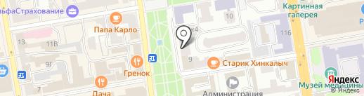 Первая ремонтная компания на карте Тамбова