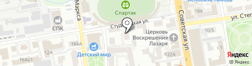 Нотариус Красюкова Т.А. на карте Тамбова