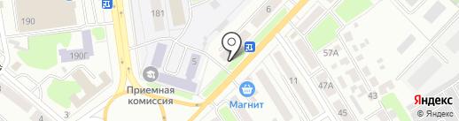 Фортуна на карте Тамбова