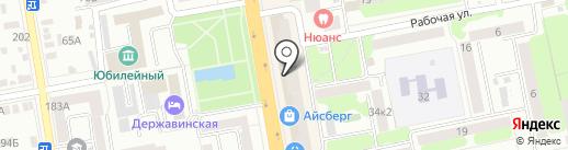Промсвязьбанк, ПАО на карте Тамбова