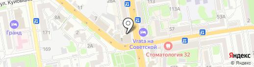 Ирина на карте Тамбова