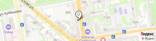 Кроха на карте Тамбова