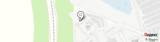 Торгово-производственная фирма на карте Тамбова