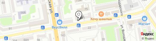 Мособлбанк, ПАО на карте Тамбова