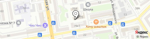 Финопора, КПК на карте Тамбова