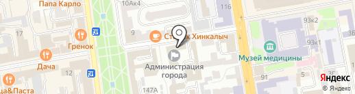 Администрация г. Тамбова на карте Тамбова