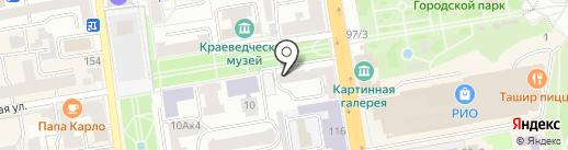 МАСТЕР DENT на карте Тамбова