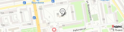 Тамбовское областное бюро судебно-медицинской экспертизы на карте Тамбова