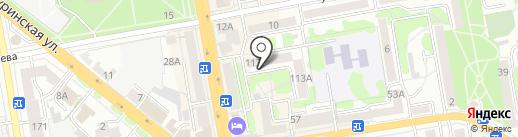 Кабинет детской консультации на карте Тамбова