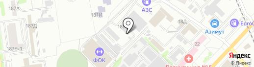 Автобаза администрации Тамбовской области на карте Тамбова