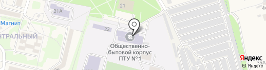 Автошкола на карте Строителя