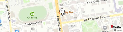 Межрегиональный правовой центр на карте Тамбова
