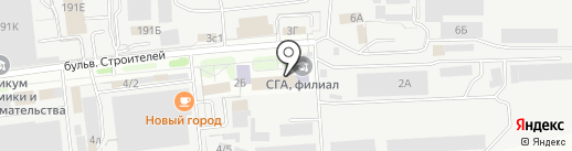 Омега-Тамбов на карте Тамбова