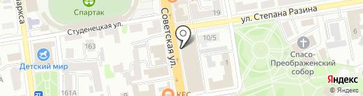 Merida на карте Тамбова
