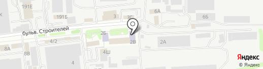 Современная гуманитарная академия на карте Тамбова