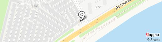 Кузнечный двор на карте Тамбова