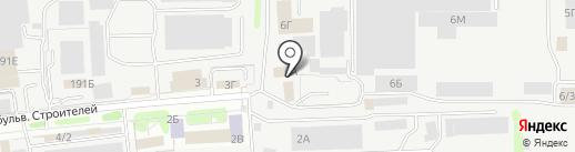 Металлобаза №1 на карте Тамбова