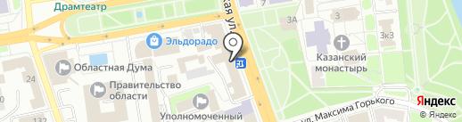 Тамбовский центр стратегических разработок на карте Тамбова