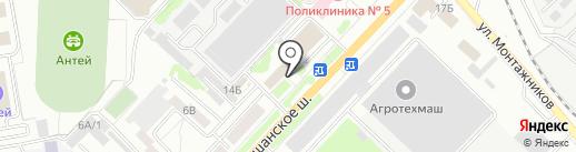 Управление государственного жилищного надзора Тамбовской области на карте Тамбова