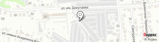 Торгово-сервисный центр на карте Тамбова
