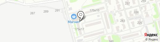 Валентина на карте Тамбова