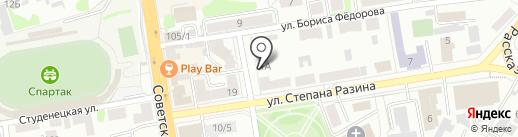 Возрождение на карте Тамбова