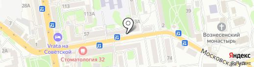 Кристалл Лефортово на карте Тамбова