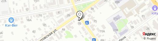 Моршанский Купец на карте Тамбова