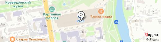 Reni на карте Тамбова