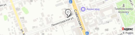 Арт-хаос на карте Тамбова