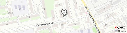 Спорт-бар на карте Тамбова