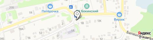 Исток на карте Бокино