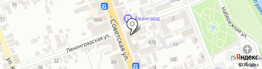 Юридическое агентство ЛПА на карте Тамбова