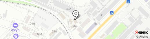 Нефтепродукт68 на карте Тамбова
