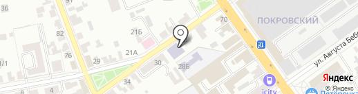 ДЮСШ №2 на карте Тамбова