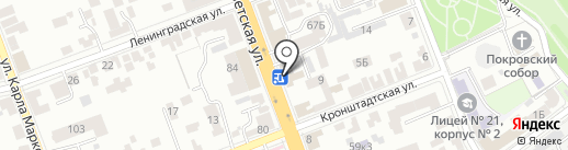 Нотариус Гребенюк В.Е. на карте Тамбова