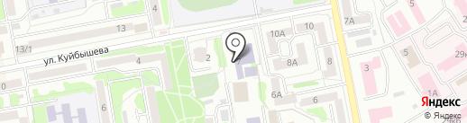 Областная ДЮСШ на карте Тамбова
