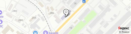 Макошь на карте Тамбова