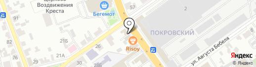 Марлин на карте Тамбова