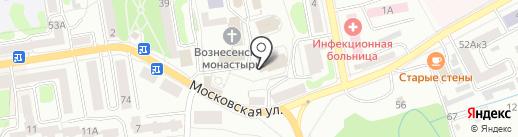 Вознесенский собор на карте Тамбова