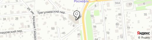 КРЕПТОРГ на карте Тамбова