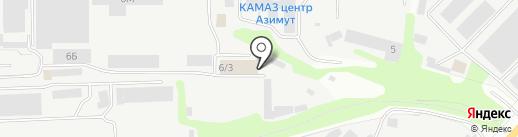 ДиС-пак на карте Тамбова